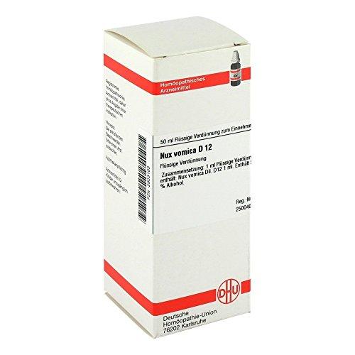DHU Nux vomica D12, 50 ml Lösung -