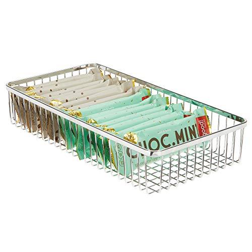 MDesign Organizador de cajones universal de metal - Cubertero para ordenar los utensilios y accesorios...