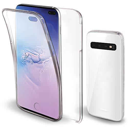 Moozy Funda 360 Grados Samsung S10 Plus Transparente