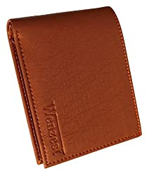 wenzest Tan Mens Formal Wallet with Many Card Pockets