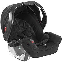 Graco Junior Baby Classic Connect - Silla para coche grupo 0+, color Negro Medianoche
