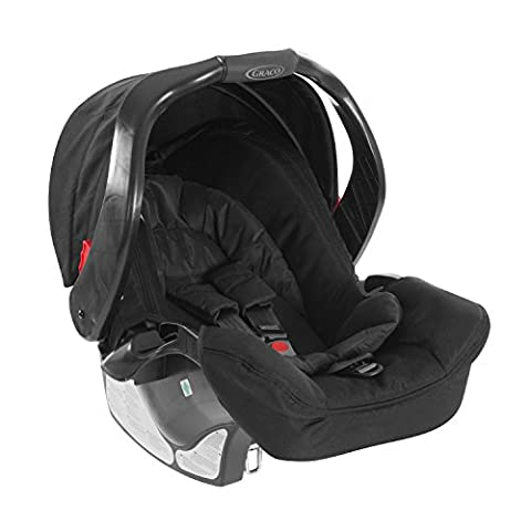 Graco Junior Baby Classic Connect siège auto Groupe 0+, Noir