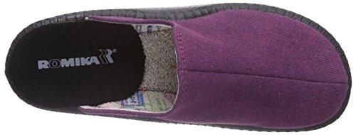 Romika - Mokasso 110, Pantofole Unisex – Adulto Rosa (Pink (pink 423))
