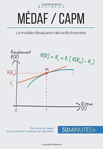 MÉDAF / CAPM: Le modèle d'évaluation des actifs financiers par Ariane de Saeger
