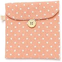 1x Sanitär Pad Halter Tasche Tampon Handtuch Serviette Tasche Tasche Taschentuch Organizer Pink