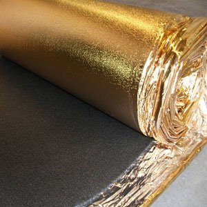 Sonic Gold Laminate Flooring Underlay 5mm 15sqm Wood Underlay Rolls