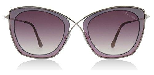 Tom Ford Unisex-Erwachsene FT0605 77T 53 Sonnenbrille, Pink (Fucsia)