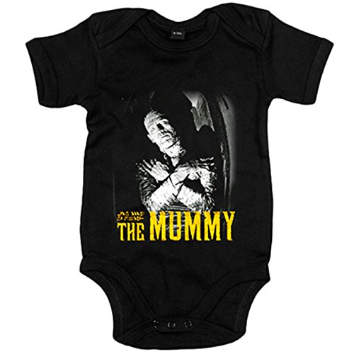 Body bebé La Momia The Mummy película - Negro, 12-18 meses