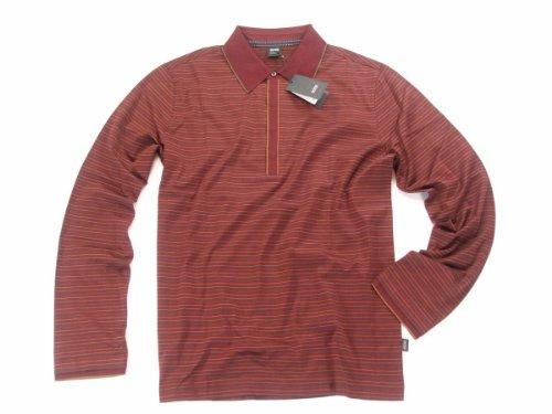 HUGO BOSS Poloshirt CARRARA 02 50187415 dunkelrot Rot