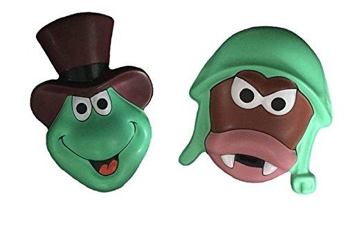 ja-Figuren, Kostümzubehör, Kunststoffmaske (Ameise) (Kinder Ameise-kostüm)