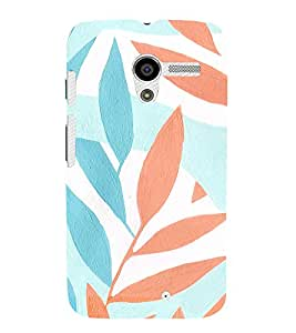 Ebby Premium 3d Desinger Printed Back Case Cover For Moto X (Premium Desinger Case)