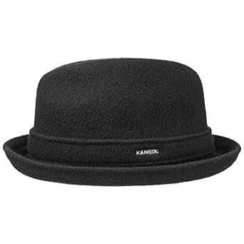 Chapeau Kangol Player en Laine chapeau en laine Fedora (S/54-55 - noir)