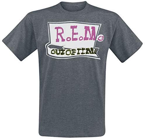 REM Out of Time T-Shirt dunkelgrau XXL (Rem-shirt)