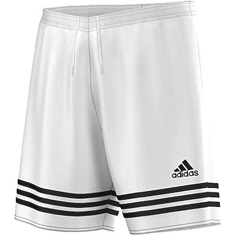 adidas Herren Trainingshorts Entrada 14, weiß / schwarz, M