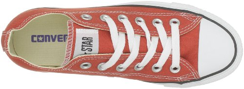 Converse Chuck Taylor All Star Season Ox, Unisex Sneaker Rot (Bordeaux Rouge)