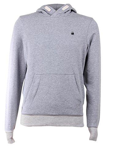 G-Star Herren Sweater Chian Hooded - Regular Fit Grey Heather (906)