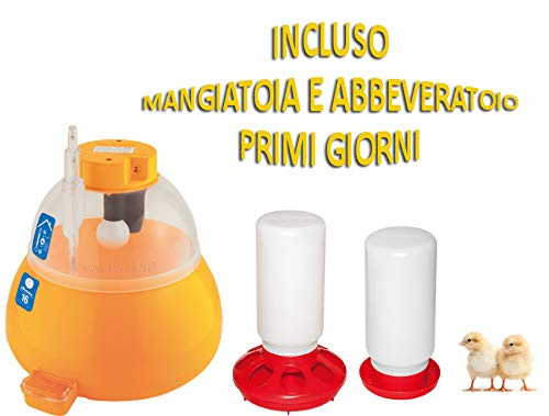 Novital Incubatrice 16 COVATUTTO analogica + Kit Primi Giorni