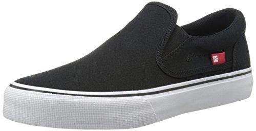 DC - - Herren Trase Slip-On TX Slip On Schuhe Black/White