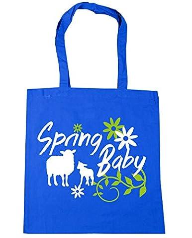 HippoWarehouse Cute Spring Baby Tote Shopping Gym Beach Bag 42cm