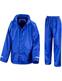 Wetplay PlaySet Childrens Waterproof Jacket & Trousers Suit Childs Kids Boys Girls