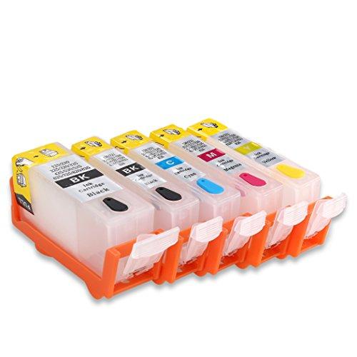 hemei @ PGI-525CLI-526leer nachfüllbar Tintenpatrone für Canon Pixma...