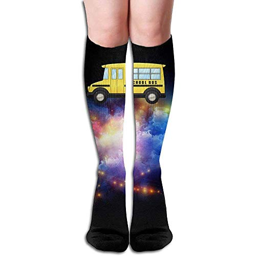 a90b9fa16ddc9 Compression Socks School Bus Adult Full Socks Long Socks Knee High Socks  (Long 50cm)
