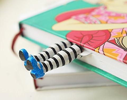 """Marque-page """"Alice au pays des merveilles"""" fait à la main. Excellent cadeau pour un dévoreur de livre !"""