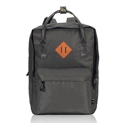 Imagen de veevan unisex grandes bolsas de escuela   para laptop para niñas adolescentes chicas gris oscuro