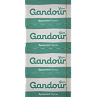 Gandour Gum Spearmint, 20 Pieces