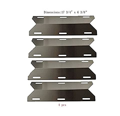 Bar.b.q.s 91231 (4-pack) Stainless Steel BBQ Gas Grill Heat Plate,