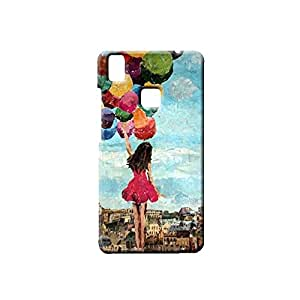 IMPEX Designer Printed Back Case / Back Cover for VIVO V3 MAX (Multicolour)