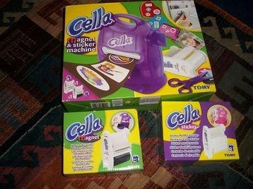 Cella Magnet und Stickmaschine