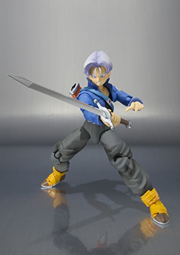 Bandai Tamashii Nations S.H. Figuarts Trunks Figura de Acción Color de Edición Premium 4