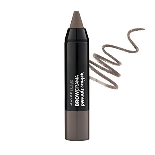 (3 Pack) MAYBELLINE Brow Drama Pomade Crayon Soft Brown (Brow Pomade Soft Brown)