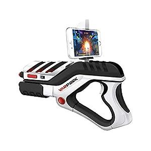 J.W. AR Spiel Gun Augmented Reality-Controller Bluetooth Gun Spielzeug Elektronische Gamepad mit mobilem Tablet-Support…
