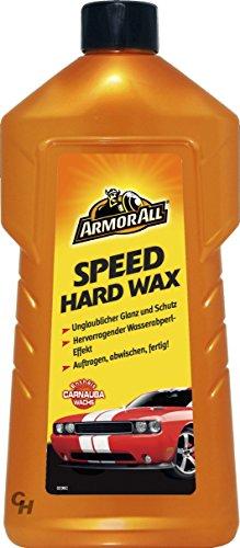 5 x Armorall 42500L Speed Hard Wax 500ml Carnauba Wachs Polieren Abperleffekt -
