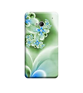 Ebby Premium Printed Back Case Cover With Full protection For HTC One M7 (Designer Case)
