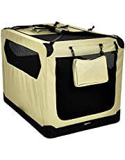 AmazonBasics Premium Folding Portable Soft Pet Crate - 42in