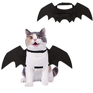 HOMIMP Halloween pour Animal Domestique Ailes de Chauve-Souris Costume pour Chats et Chiots