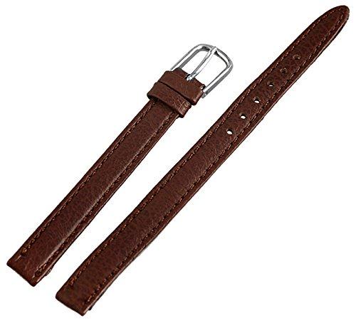 Leder Uhrenarmband Uhrenband Uhrband Ersatzband Armband braun 813270700108 Stegbreite 8mm