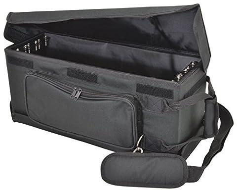 chord RACKBAG3US Shallow 3U 19-Inch Rack Bag for DJ Equipment
