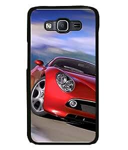 Printvisa Designer Back Case Cover for Samsung Galaxy J7 J700F (2015) :: Samsung Galaxy J7 Duos (Old Model) :: Samsung Galaxy J7 J700M J700H (Red Formula 1 Wheels Racing Track)