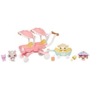 Littlest Pet Shop Babies Themed Pack - Sunny Stroll With Babies