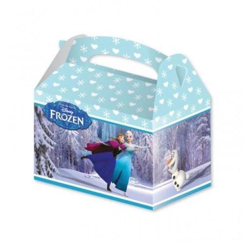 Nouveau design Disney Frozen Carte Fête Boîtes Parti x 4