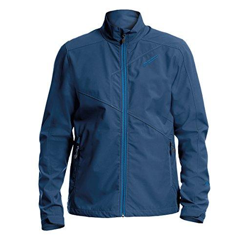 XXL Maier Sports leichte Softshelljacke dunkelblau Blau
