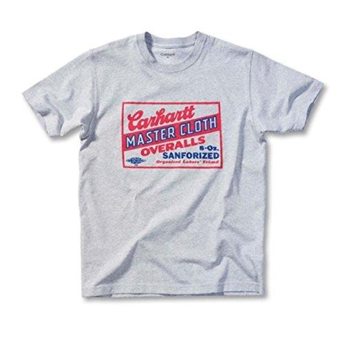 Carhartt Heritage Master Cloth Logo T-Shirt EK020 Grau