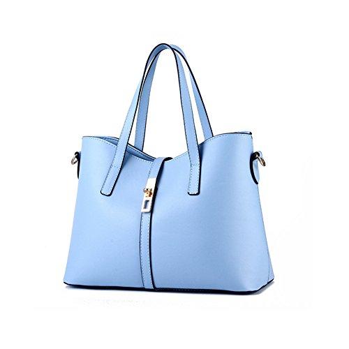 Xiaoxuan, Borsa a spalla donna Diamond Blue Azzurro