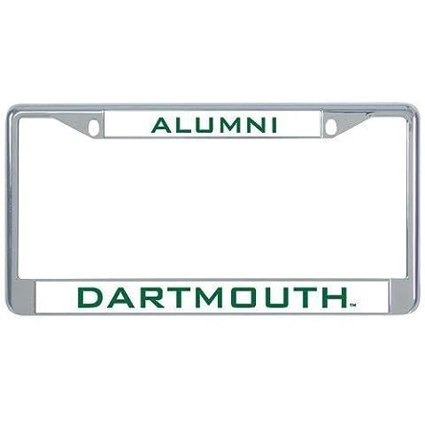 IMG Dartmouth Metal License Plate Frame in Chrome Alumni