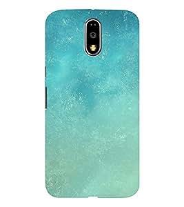 EPICCASE Light Blue Sky Mobile Back Case Cover For MOTO E3 (Designer Case)
