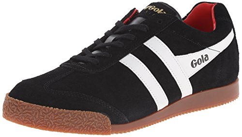 GolaHarrier - Scarpe Sportive Outdoor uomo , Nero (Black (Black/White/Red)), 42